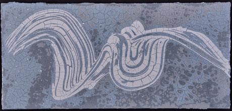 Drift in Paynes  (75X35cm)    2011