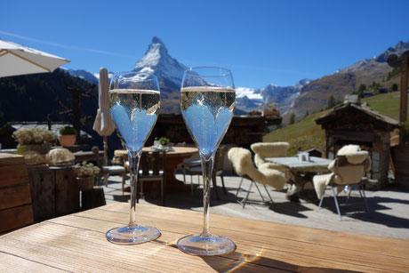 5-Seen-Wanderung Zermatt - Chez Vrony - 23.09.2013