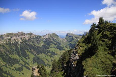 Niederhorn - Blick ins Justistal - 31.07.2012