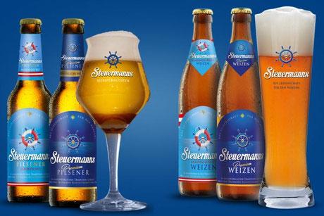 Steuermanns Bier bei momtis 5 in Otterndorf