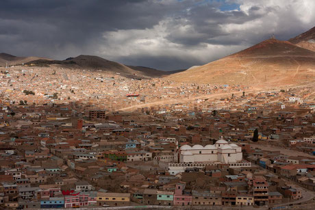 Temps d'Orage sur Potosi - Bolivie © Olivier Philippot Photo