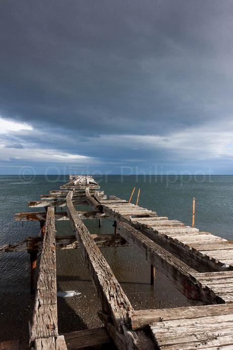 Ponton au bout du monde - Punta Arenas - Chili © Olivier Philippot Photo