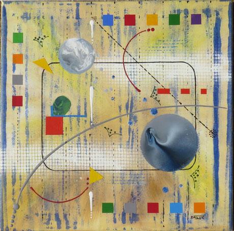 génération - daluz galego peinture tableau abstrait abstraction
