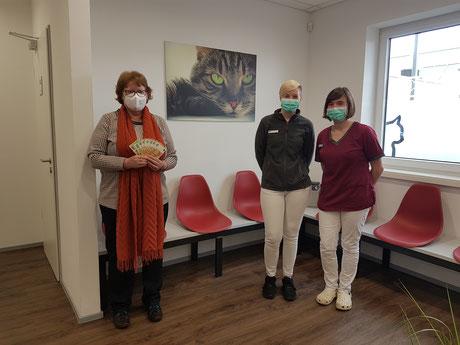 2021_03_22 Spende der Tierarztpraxis an der Erft
