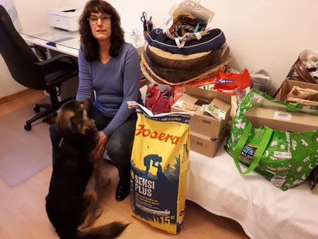 Manuela Eix, aktive Hundezeit, Foto: Linke