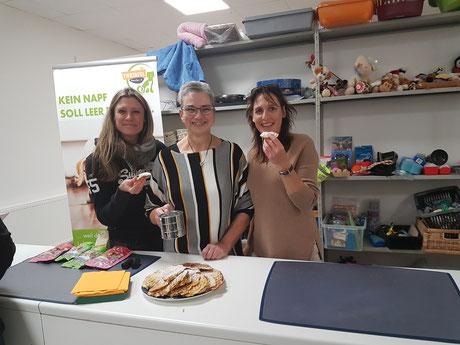 Simone, Hilde und Mirijam, Foto: Oetken