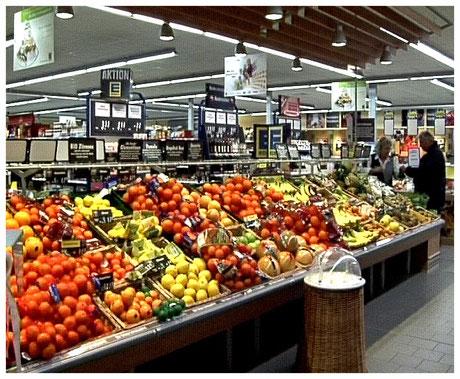 Edeka Markt Meyer Neuenkirchen Gemüseabteilung