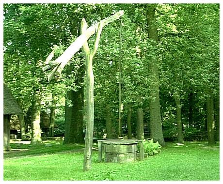 Heideort Wilsede Historischer Brunnen