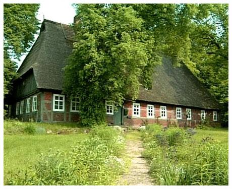Heideort Bispingen Historisches Reetdachhaus