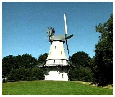 Historische Windmühle Sprengel Lüneburger Heide