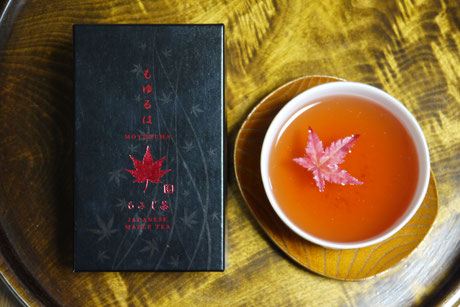 もみじ茶 Japanese maple tea red Moyuruha Momiji tea