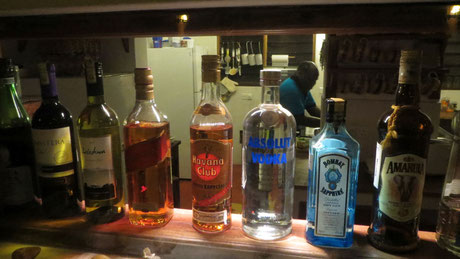 . .  . and the mini bar.