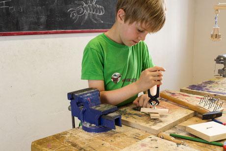 Handwerkspädagogische Einzelförderung