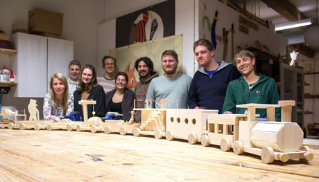 Alex, Pelle und Tobias - das Team der Werkkiste