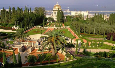Shrine of the Báb and Bahá'i Gardens in Haifa
