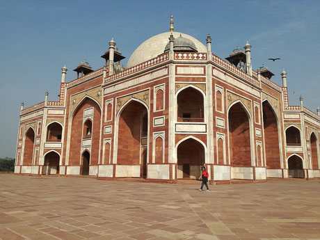 Humayun's Tomb Delhi India cruise shore Jewish tour