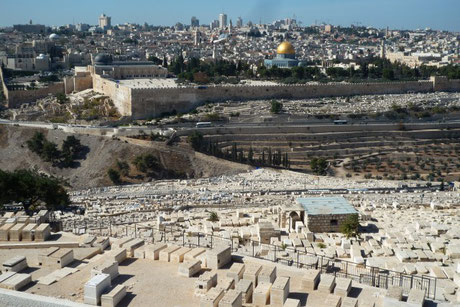 Mount of Olives and Jerusalem