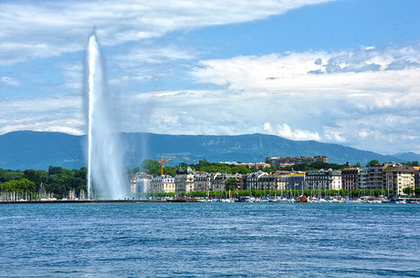 Geneva and Lac Léman