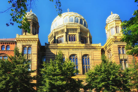 New Synagogue Berlin Jewish