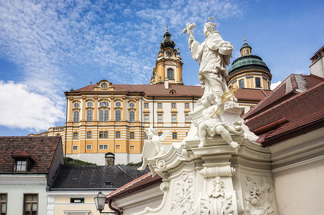 Melk Abbey baroque Benedictine monastery