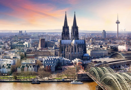Cologne City Center with Cathedral