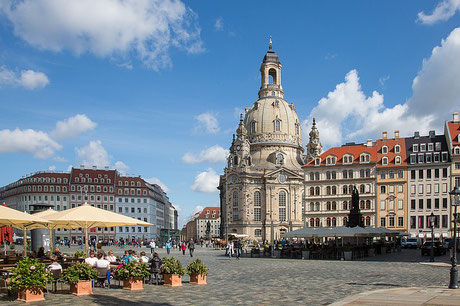 City Center with Frauenkirche