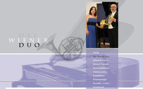 Das Wiener Duo: Johanna Horny, Klavier & Roland Horvath, Wiener Horn