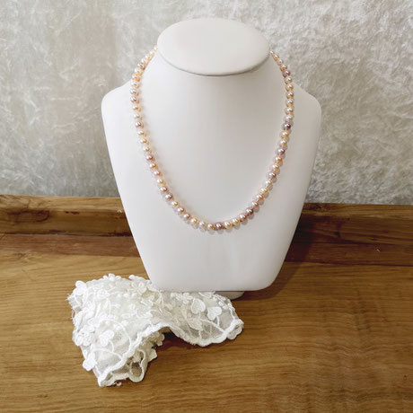 Collier de perles de culture taille Princesse