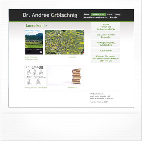 Dr. Andrea Grötschnig | wwwu.uni-klu.ac.at/agroetsc by homepagemanufaktur.at
