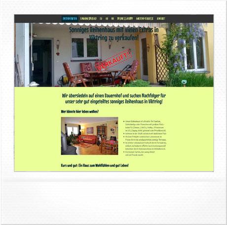 Reihenhaus zu verkaufen | viktring.jimdo.com by homepagemanufaktur.at