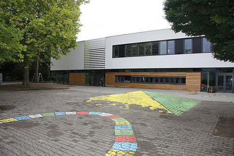 Pausenhof Schule am Erlenbach
