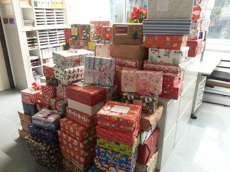 Weihnachtspäckchen 2016