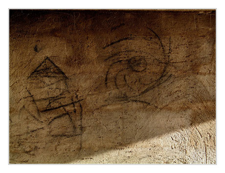 Moderne Höhlenmalerei, Foto