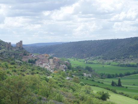 Vista de Pelegrina y su castillo, por Tuispi, Creative Commons