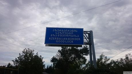 was eine herrliche Verabschiedung aus Georgien - Viel Glück!