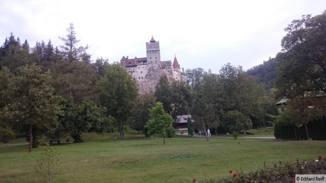 Dracula-Schloss in Bran