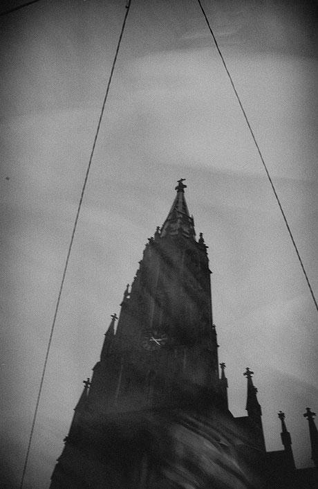 LATVIA / Riga / From the book 'Auftakt'. St. Gertrude church , 2005 © Roman Drits / Anzenberger