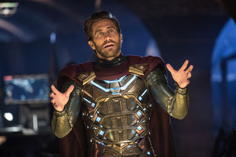 Mysterio (Jake Gyllenhaal) in Spider-Man: Far From Home
