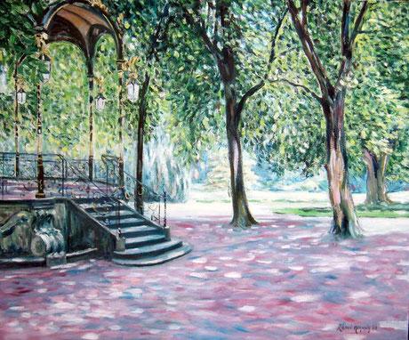 Le parc de la Pépinière à Nancy - Nancy, Bandstand in Pepiniere Park (Remi Acquin)