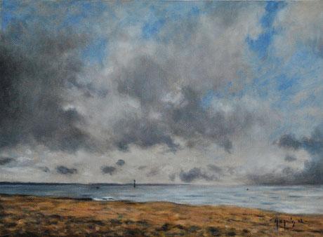 Ciel nuageux à Houlgate - Cloudy Sky at Houlgate (Remi Acquin)