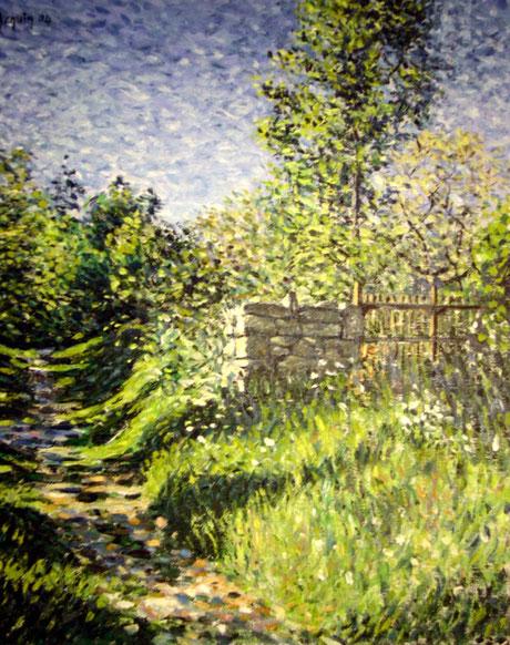 Longuyon, le chemin des Vignes - Longuyon, Vineyard Path (Remi Acquin)
