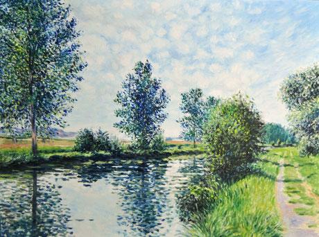 Le canal de l'Est à Rouvrois-sur-Meuse - The East Canal at Rouvrois-sur-Meuse (Remi Acquin)