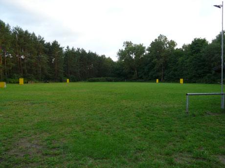 Vereinsgelände in Fußballplatz-Größe