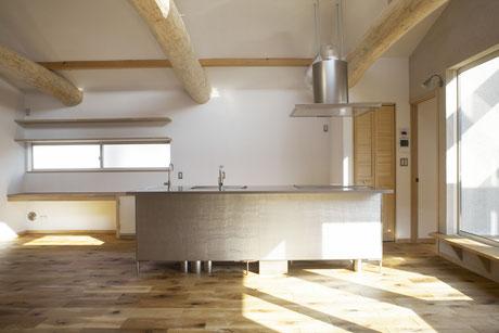 国産材を使った注文住宅・自然素材の家・木の家