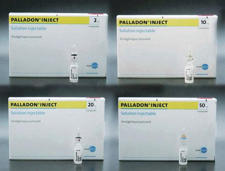 Vier verschiedene Dosisstärken, praktisch gleiche Verpackung. Foto: Enea Martinelli