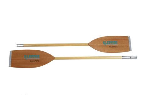 Doppelpaddel Holz
