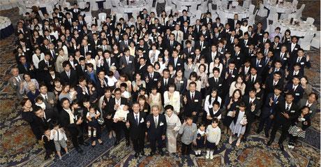 創業70周年記念式典・祝賀会にて(2018年6月)