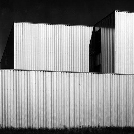 Architekturfoto in Schwarzweiss