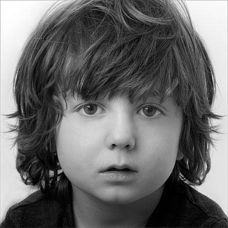 Portrait von einem kleinen Jungen