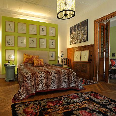 pompöse Schlafzimmerdekoration von Petra Bernau